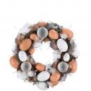 grossiste Fleurs artificielles: couronne  d'oeufs «  Halina » D30cm, ...